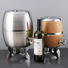 Wholesale new 1l 2l 4l 6l 8l stainless steel wine whisky beer barrel