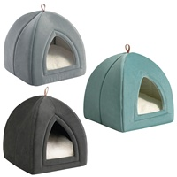 Pet Supplies Smart Design Unique Multi Functional Portable Travel Felt Cat Bed