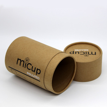 eco-friendly biodegradable round kraft paper packaging tubes