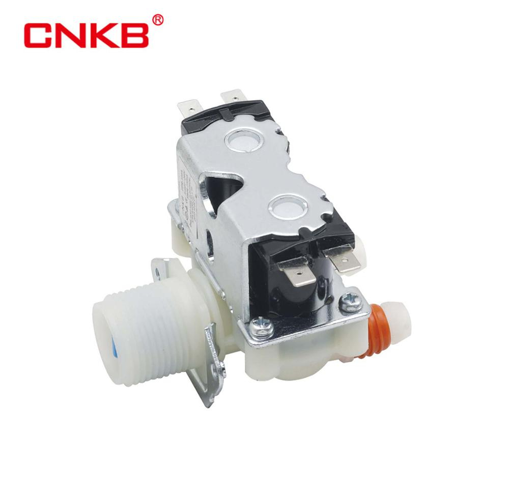 CNKB free sample available washing machine Normally Close 2 way non-metallic AC110V/220V solenoid valves