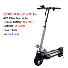 10-дюймовый электрический скутер 48 в 500 Вт литиевая ba дальность 100 км ЖК-дисплей Hoverbroad мощный Электрический скейтборд(Китай)