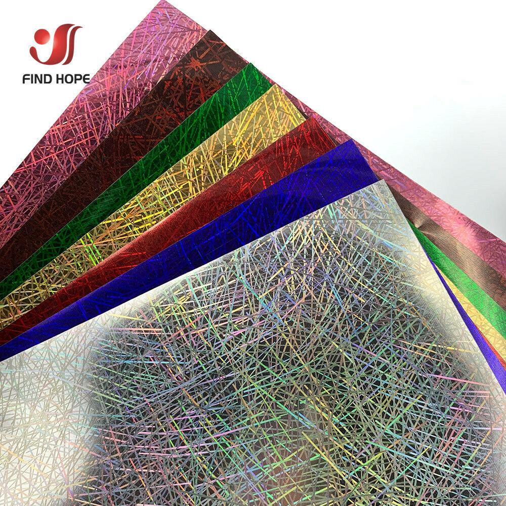 30cm * 50 centímetros Holograma iridescent Cromo Vinil De Transferência De Calor Filme de Ferro-on Imprensa do Calor do T-Shirt Têxtil Cricut multicolor DIY