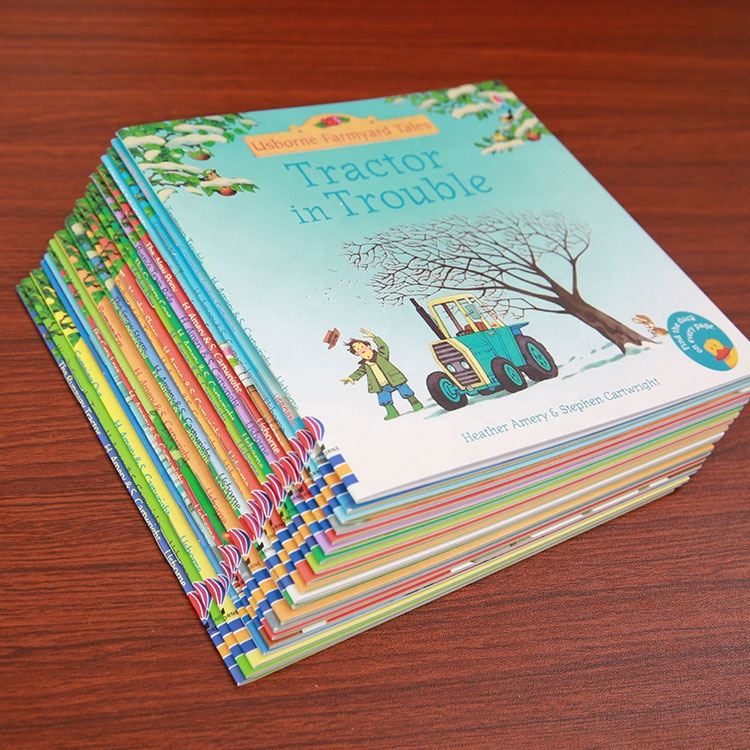20Books/Set kids Picture Books Children Baby famous Story English Child Book Farmyard Tales Story Eary education