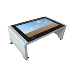 AMH 55 inch Fashion table style custom lcd kiosk stand pc touch screen / Smart desk/touch screen interactive