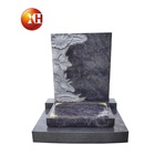 Manufacturer Custom Chinese Style Art Monument Carved Pattern Granite Stone Headstone Outdoor cemetery For