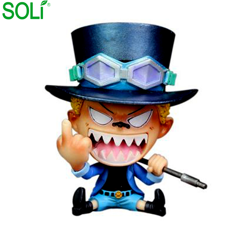 10 CENTÍMETROS estatueta PVC One piece sabo One piece anime figura Um pedaço