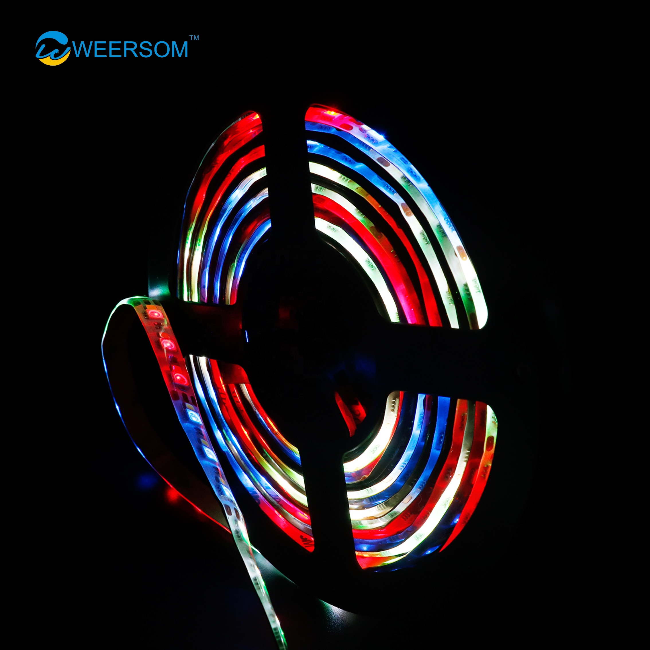 Outdoor digital Flexible Waterproof <strong>RGB</strong> 5050 Led Strip Light with IC