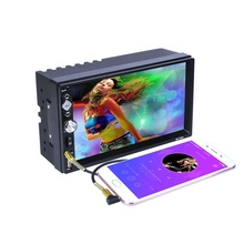 1080P touch screen mp5 car video player with input rear view camera function