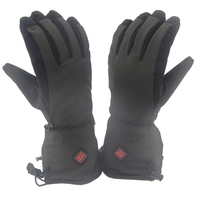 Winter warm gear Men Women 7.4V 2200mAh Rechargeable Battery Heated Gloves for Skiing