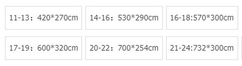हल्के नाव कवर सामग्री भारी शुल्क Trailerable 20 21 22ft 210D स्पीडबोट निविड़ अंधकार यूवी संरक्षित