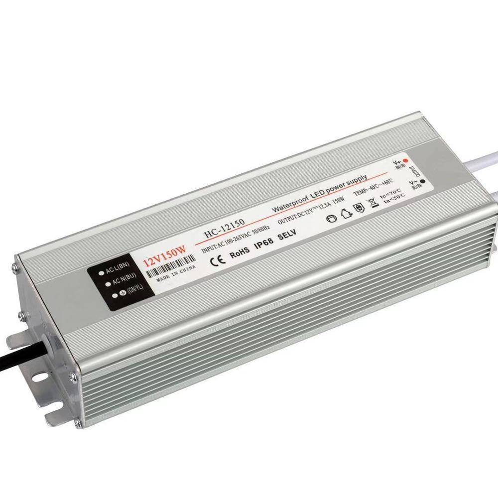 Controlador de Led controlador de led de tensión constante impermeable controlador de led 12v 150w
