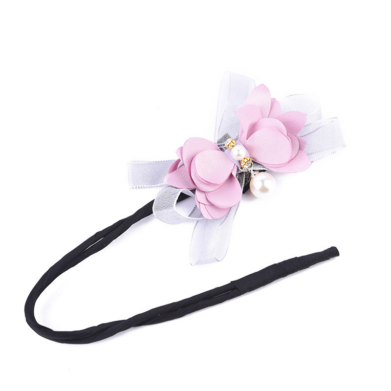 Hot Sale  Hair Accessories Pearl Hair Disk Flower Headdress For Women Girls