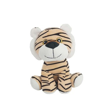 Factory direct plush animal toy plush cute velboa tiger soft stuffed cartoon tiger toy