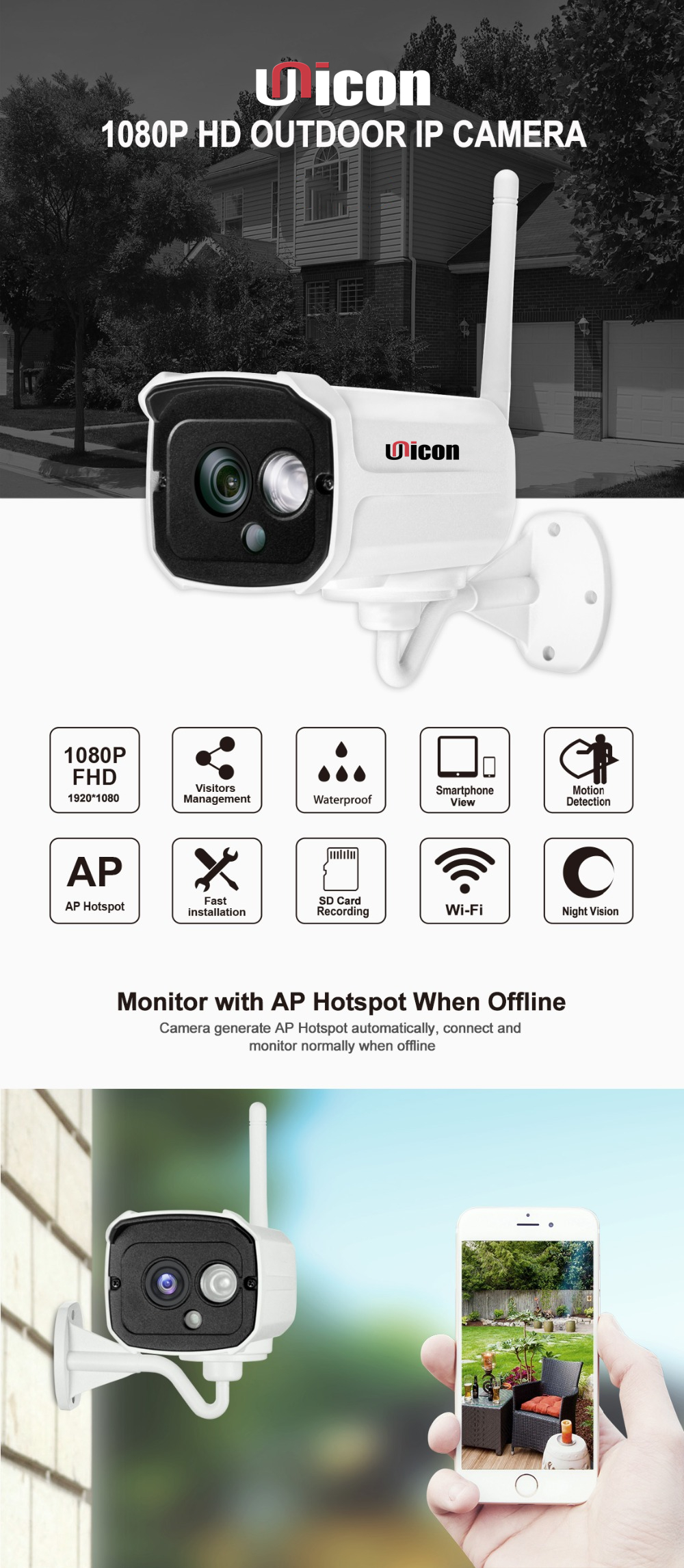 1080P 2MP Wireless Wifi NVR Kit Cheap CCTV Camera Indoor Outdoor Waterproof IP66 No Wiring Factory Outlet Wholesale OEM NVR Kits