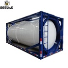 New Product 20FT Oxygen Argon CO2 N2O Gas Tank Containers 20M3 Liquid Nitrogen ISO Tank Containers Price