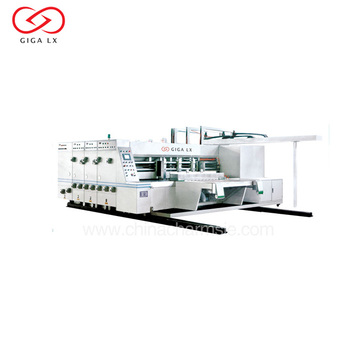 GIGA LXPM-307 Carton Glue Machine Corrugated Carton Box Stitching Machine Semi Automatic Cartoning Machine