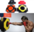 Faux Leather Wall Punching Pad Boxing Punch Target Training Sandbag Sports Dummy Punching Bag Fighter Martial Arts Fitness Gear