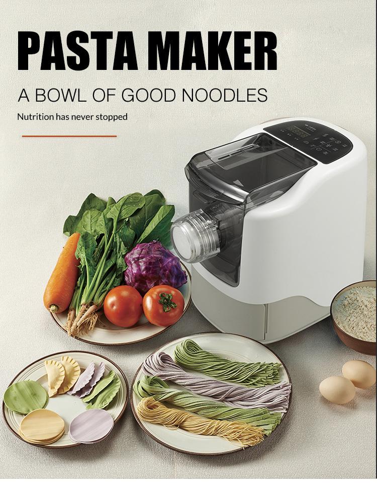 220V 260W food grade Professional automatic vegetable pasta maker mini maker machine make fresh pasta/macaroni/noodle maker