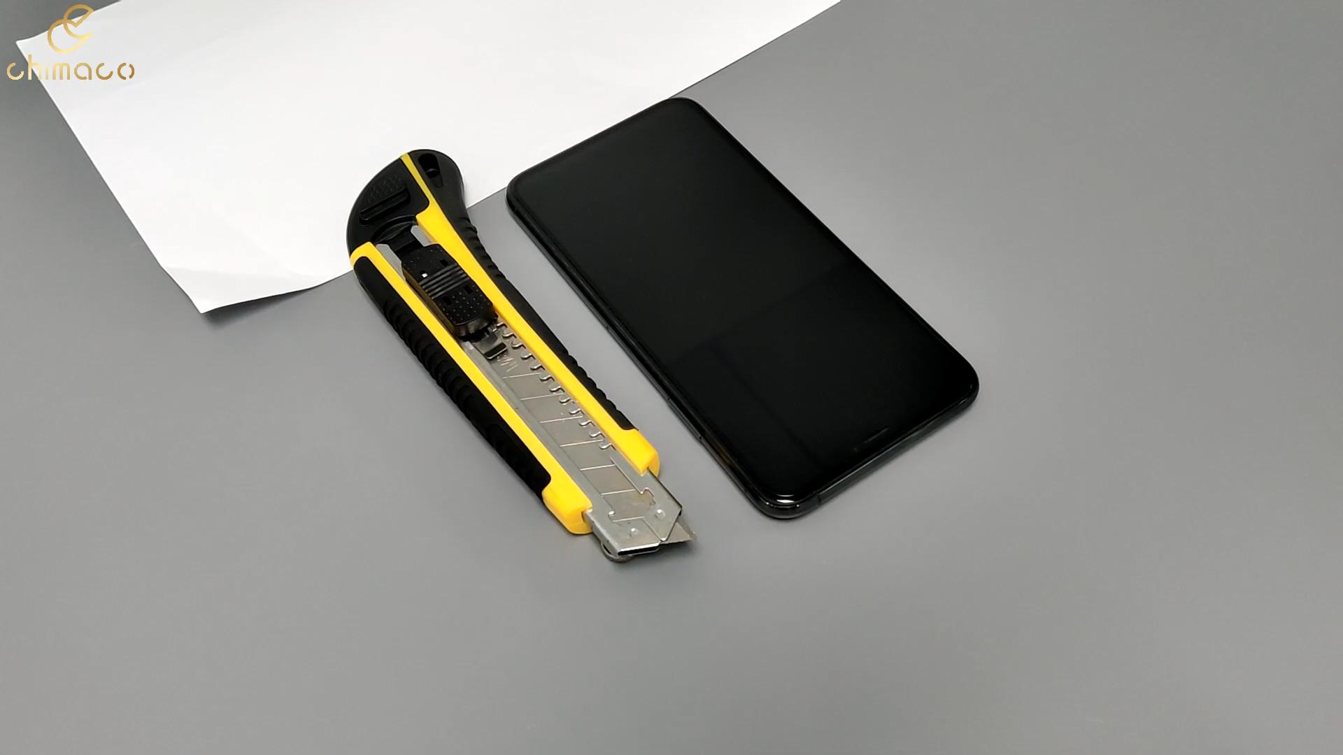 יצרן סיטונאי מזג זכוכית מסך מגן 9D זכוכית עבור טלפון נייד עבור iPhone 11 פרו