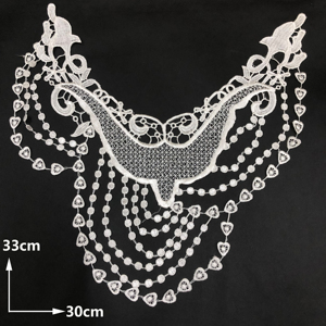 water soluble lace trim china latest new stylecollars ladies designs for made mesh cotton applique motif embroidery lace collar
