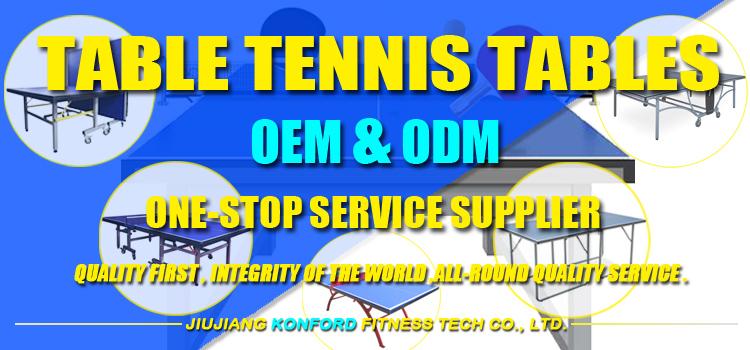 Resmi Ukuran SMC Outdoor Tenis Meja Pelatihan Baja Bingkai Logam Tabung Tahan Air Meja Ping-Pong