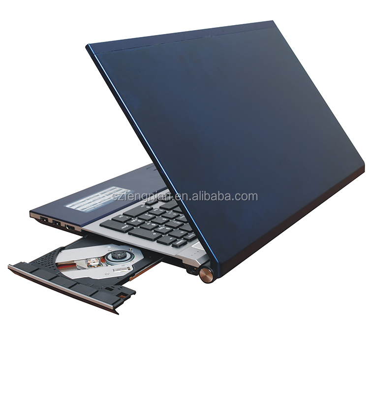Hot Jual 15.6 Inch I7 5th Gen 8GB 1TB HDD SSD DVD-RW Komputer dengan Harga Murah Laptop PC