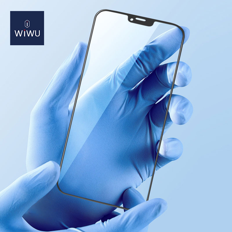 WiWU 2.5D 窄边 丝印 钢化膜 iPhone12 (https://www.wiwu.net.cn/) 手机 壳 膜 第4张