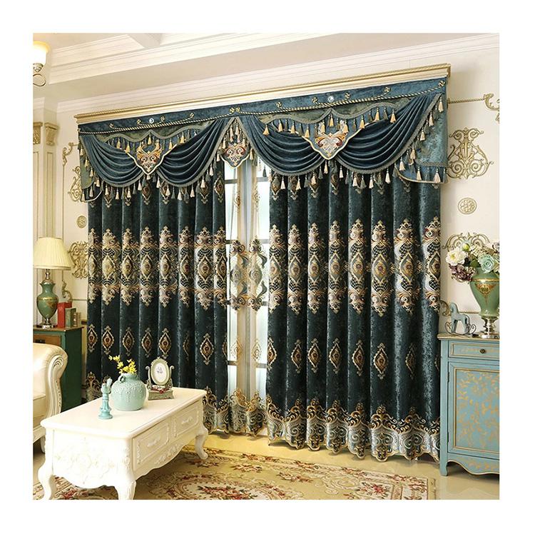 Роскошные шторы ткань с ворсом из шенили плотные черно-белая шторы в простом стиле для гостиной