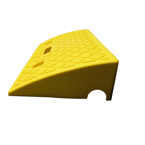 Yellow Portable Lightweight Plastic Curb Ramps
