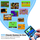 SOPEWOD High Quality 3inch 400 in 1 SUP Handheld Retro Game Console