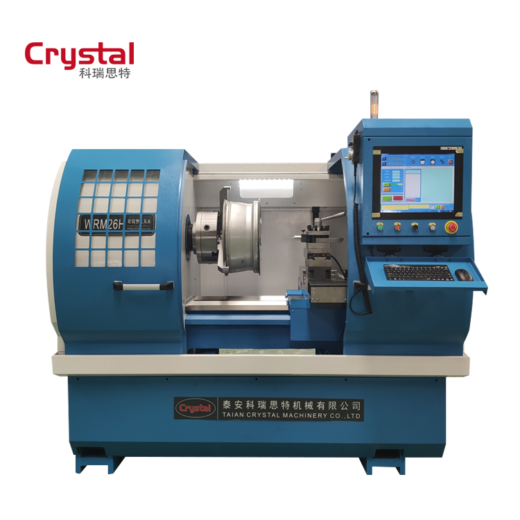 Specialized in cnc lathe machine for 18 years China manufacturer rim repair machine WRM26H