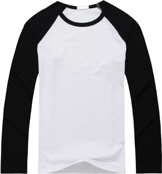 Men's Cotton Wholesale In Stock Low Price Casual t shirts/ Loose Fit Style Street Wears Blank Black White Boy's raglan T-shirts