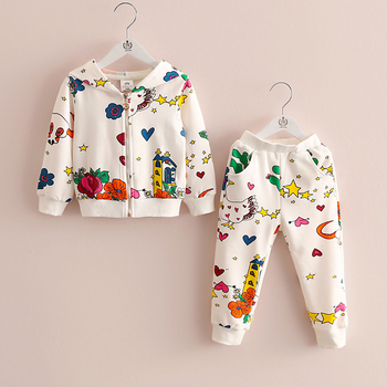 Cotton french terry set for kids