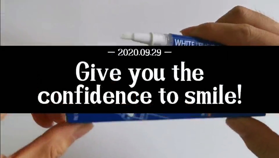 Professional 35% carbamide peroxide cosmetic bleaching multiply flavors instant smile teeth whitening pen