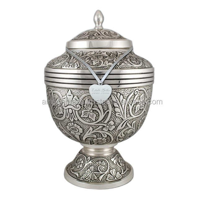 Royal Embossed Adult Ashes Cremation Urn