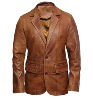 Men's Jacket Powered Heated Jacket Classic Heating Waterproof leather Jacket
