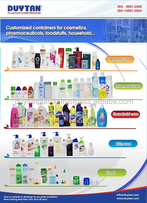 Plastic cosmetic packaging by plastic manufacturer from Vietnam
