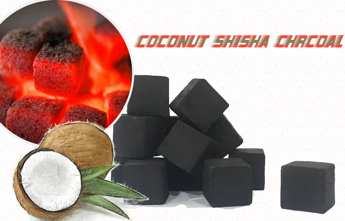 Indonesia Coconut Cubes Charcoal Shisha Hookah Argile charcoal with the cheapest price and the best quality