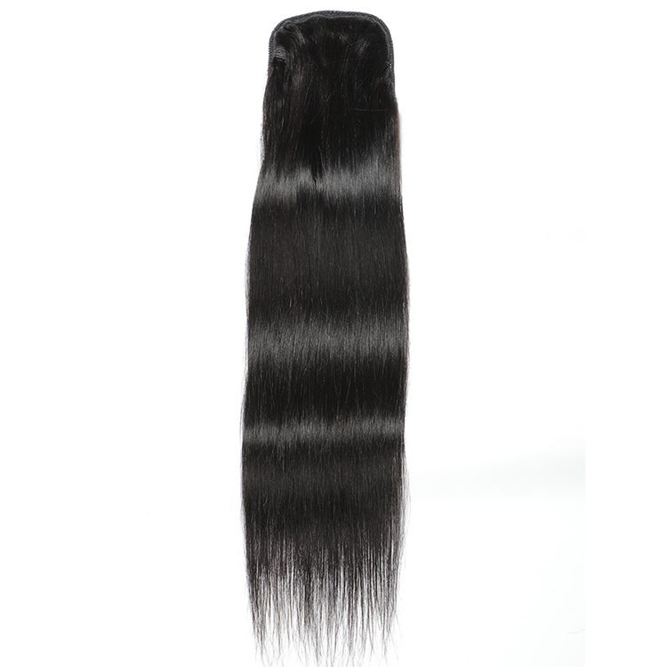 Hot Sell Unprocessed Natural Color Braid Wet And Wavy 100 Human Hair Yaki Straight