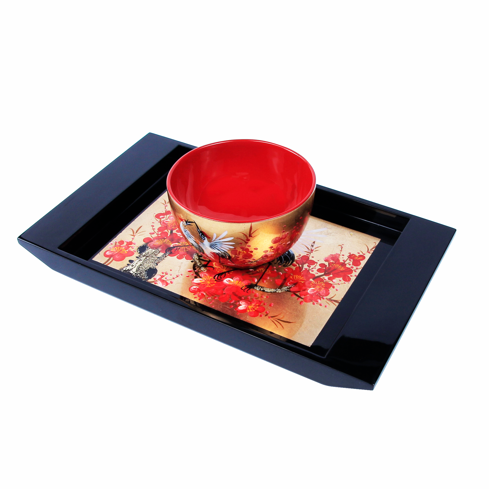 Modern Design Durable Cheap Custom Dessert Cake Sushi Appetizer Snack Wooden Lacquer Serving Plates