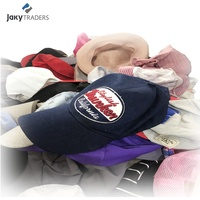 JAKY korea china used cap second hand caps used clothes in bales export africa bags sorted recycling bags old sports clothes