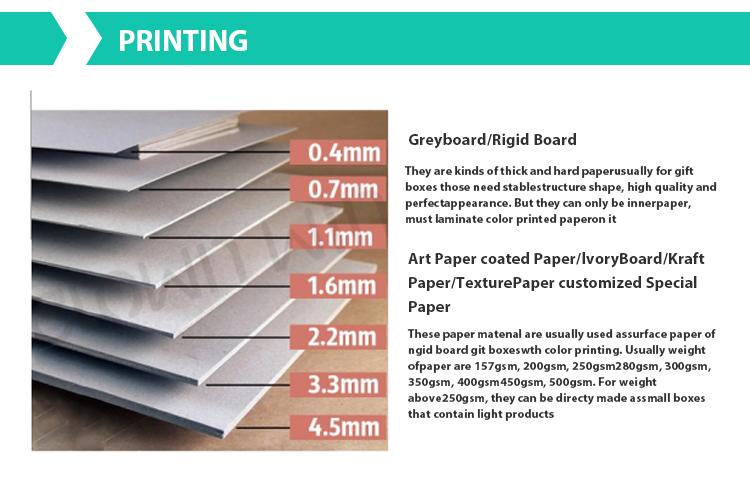 Customize hard cardboard magnetic close book shape gift box 3