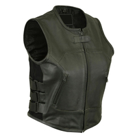 women leather vests cheap quality price