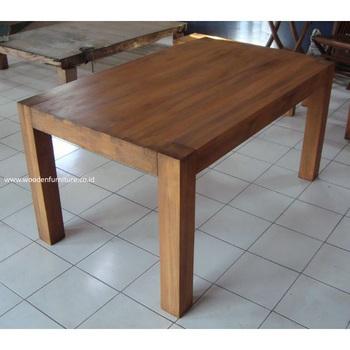 Jati Indoor Furniture Meja Kayu Jati Jati Solid Minimalis Meja Makan Ruang Makan Minimalis Furniture Rumah Furniture Buy Digunakan Jati Solid Dining