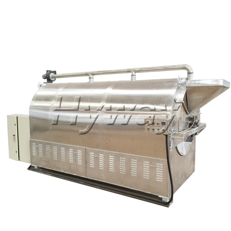 100kg/batch dry sesame seed roaster ground nut roaster