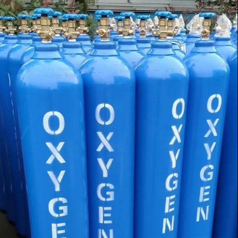 Medico vuoto di ossigeno bombola di gas per la vendita