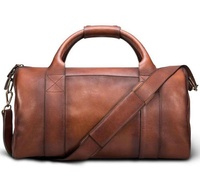 Waterproof Travel Duffel Sports Man Leather Luggage Bag