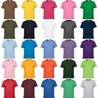 [G&G CONCEPT] - Men's Plain Round Neck T-shirts, Vietnam Suppliers T-shirts