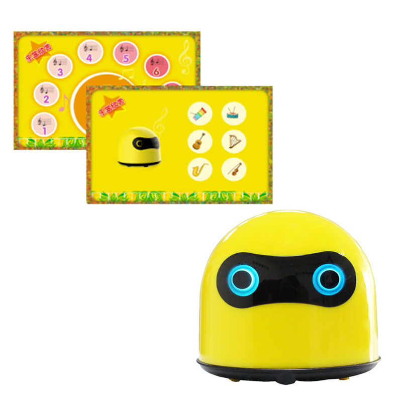 Baru 2020 Layar Batang Ai Arduino Pendidikan Coding Humanoid Smart Robot Kit Mainan untuk 3 + Anak