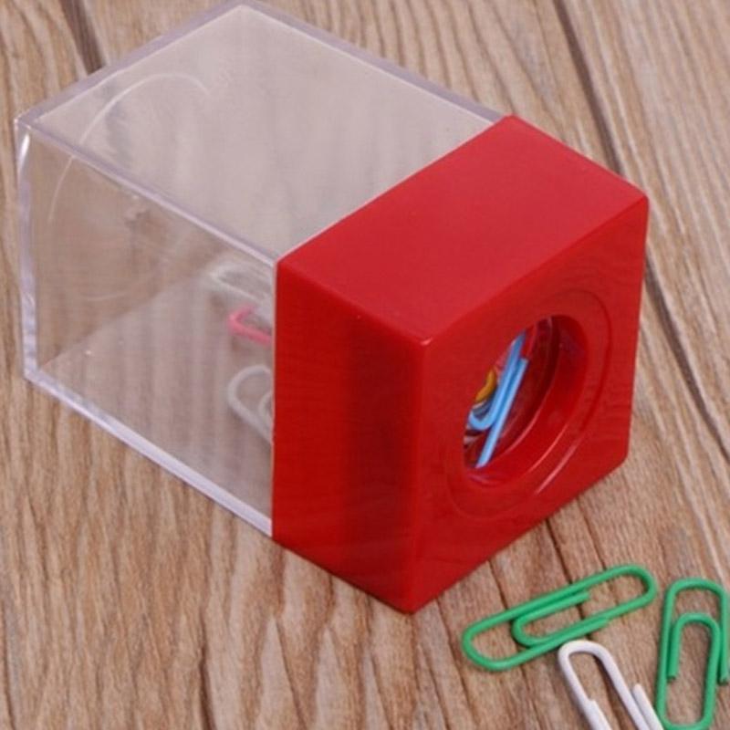Индивидуальный магнитный зажим для бумаги держатель коробка, клип Организатор